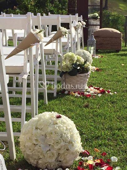 Ceremonias en cesped