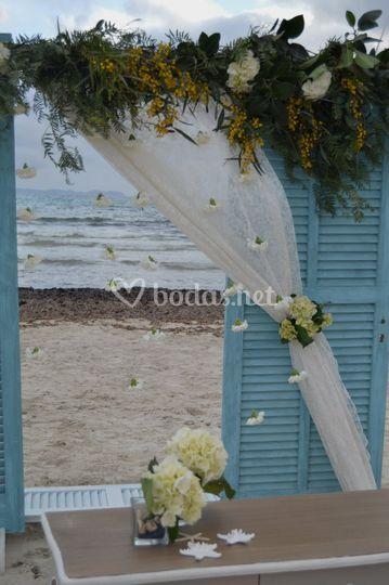Puertas para ceremonias