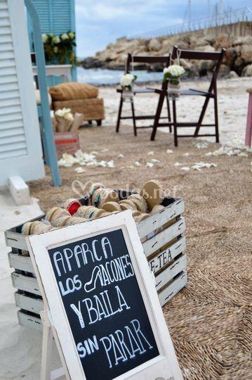 Alpargatas de boda