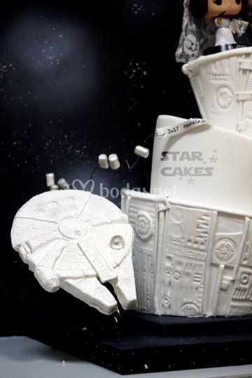 Tarta Boda Star Wars 3