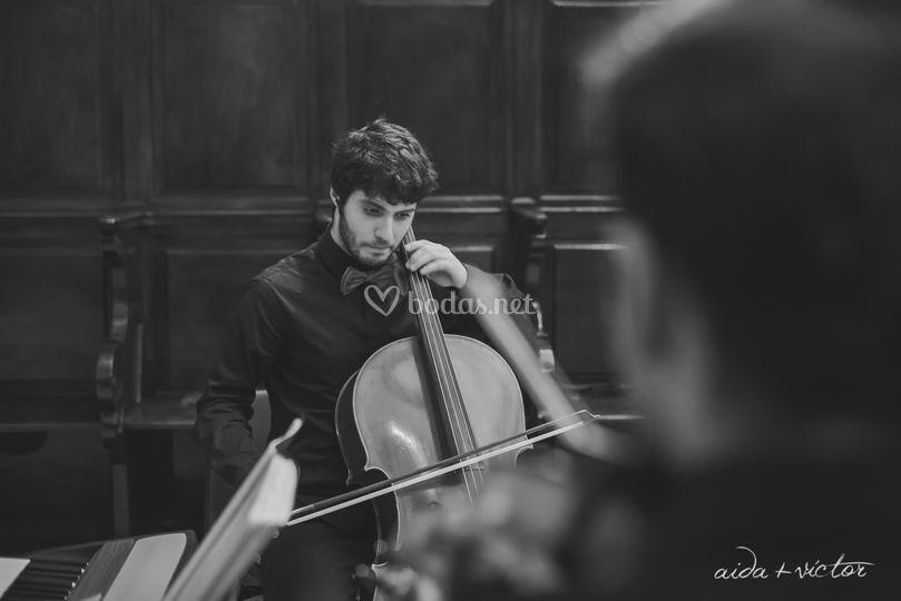 Juan Carlos, violonchelo