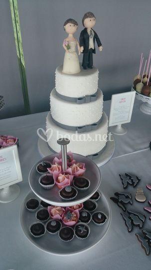 Detalle de la mesa dulce