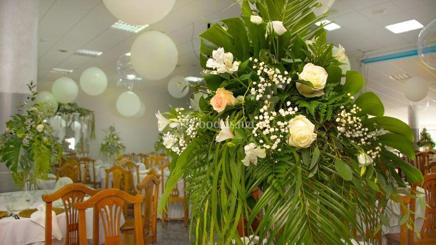 Interior Salon celebraciones