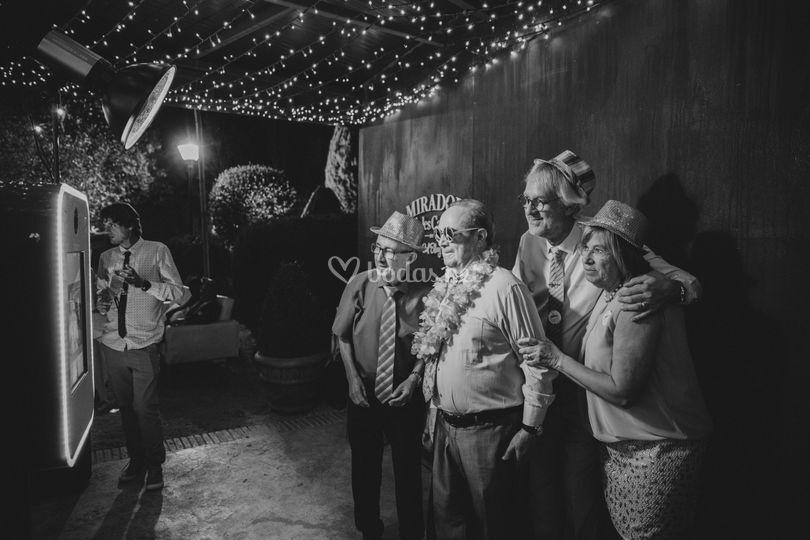 Nuestro fotomaton en una boda