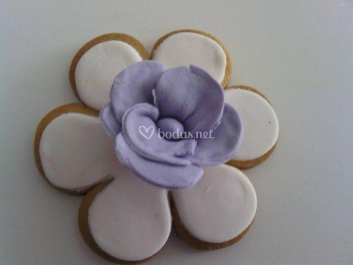 Galleta flor