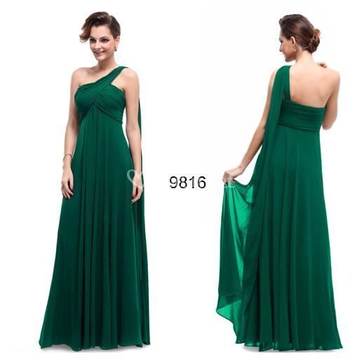 Modelo en color verde