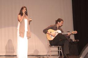 Julia Samadhi y Antón Presser