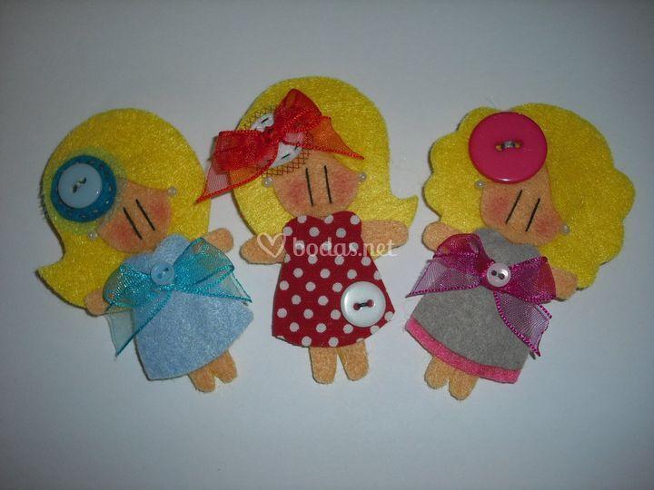 Muñecas rubias