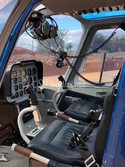 Cabina Helicóptero