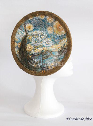 Tocado de Van Gogh