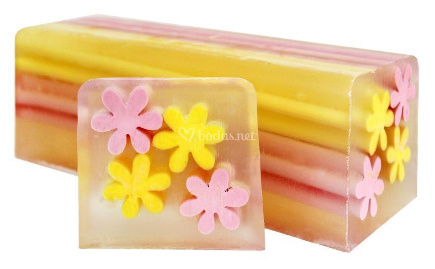 Jabón aroma fruta de la pasión