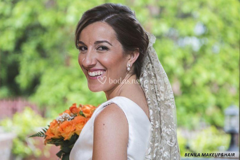 Maquillaje y pelu para novia