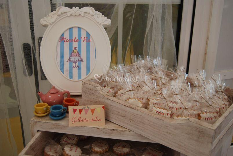 Detalles de mesa dulce
