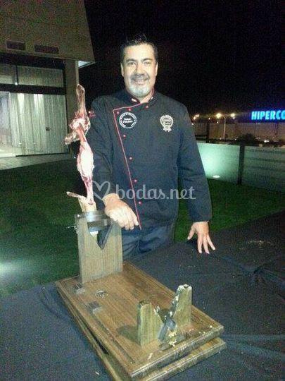 Cristobal Jaenes - Cortador de jamón