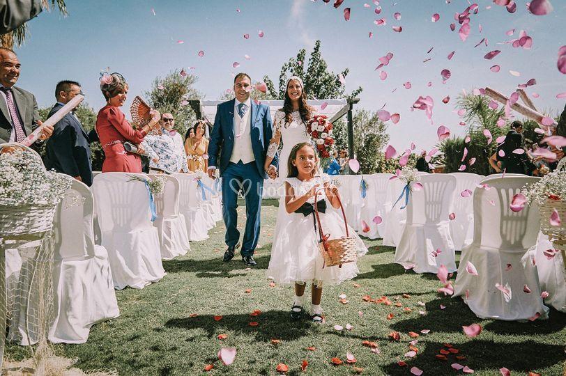 Salida Ceremonia-Raul Herrera