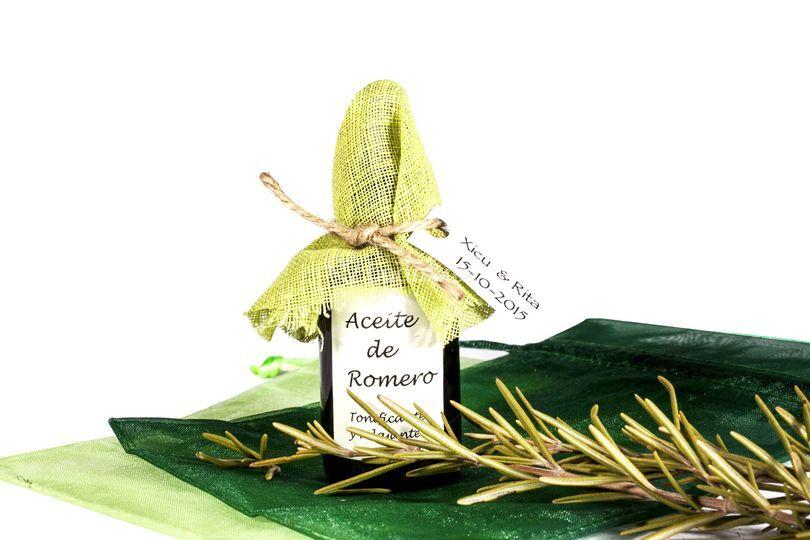 Aceite de masaje de romero