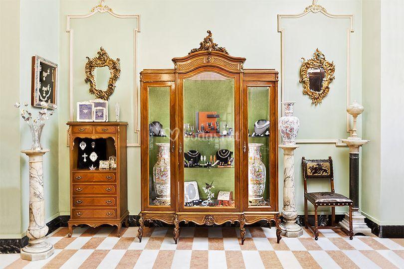 Interiores de joyería Pajarón