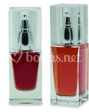 Modelo de frascos de perfume