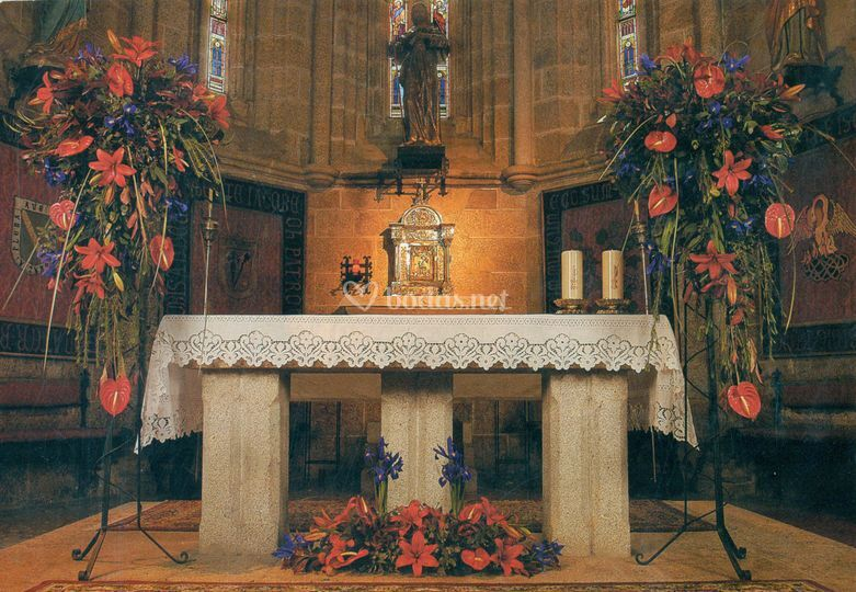 Decoración del altar