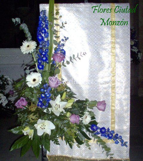 Decoraci n del atril de flores ciutad foto 26 - Atril decoracion ...