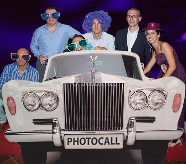 Photocall Rolls Royce
