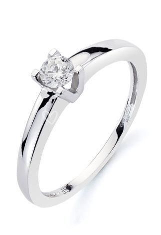 Solitario diamantes zafir
