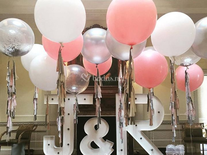 Iniciales LED&Globos