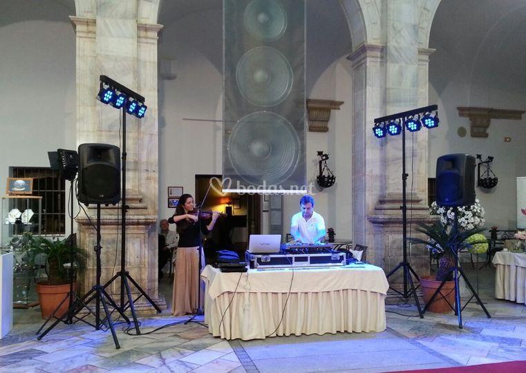 Violín + DJ