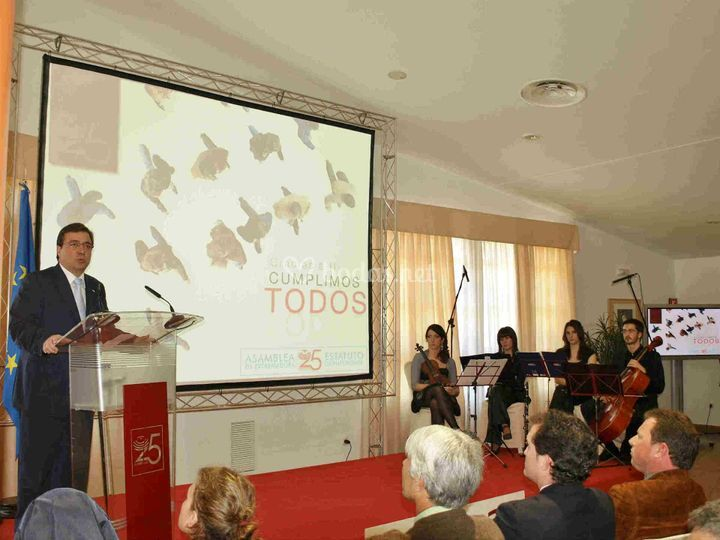 XXV Aniv. Asamblea Extremadura