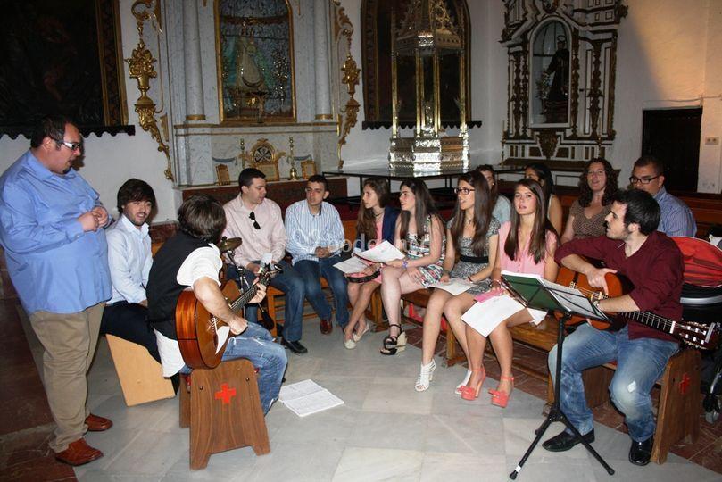 Coro en una celebración