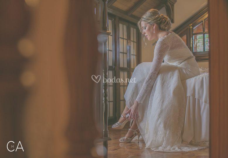 Chema Artiga, boda en La Mancha