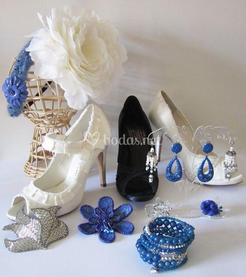 Tocados, accesorios y zapatos