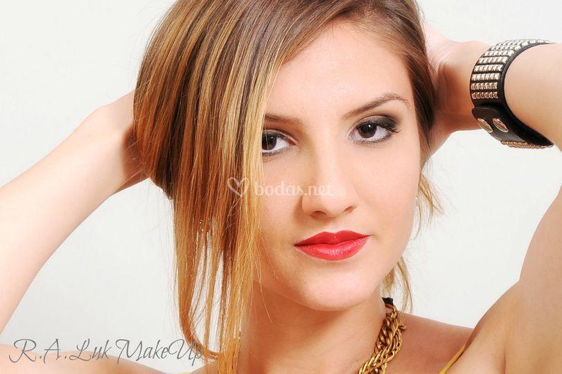 Maquillaje para fotografía