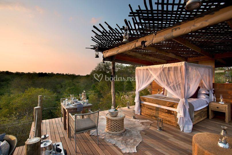 Suite nupcial viaje Sudáfrica