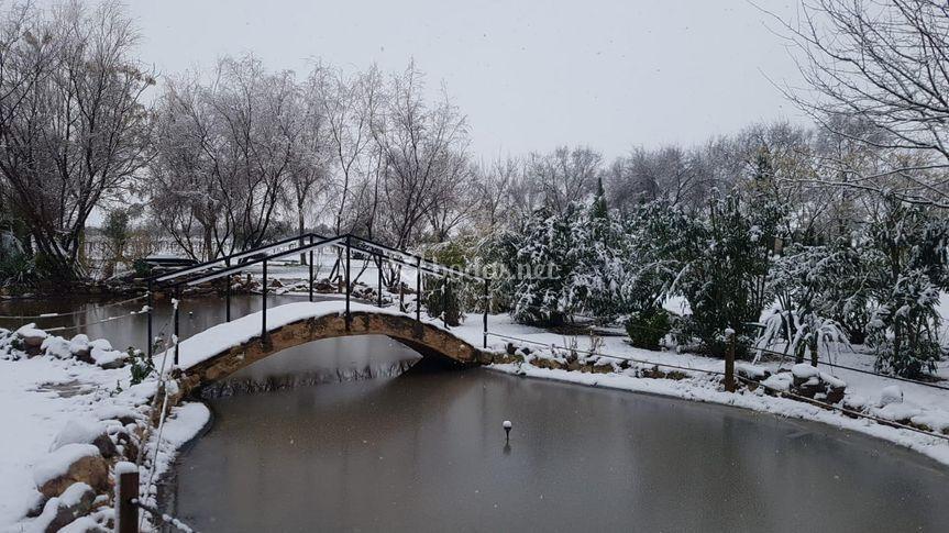En invierno también es bonita