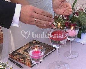 Ceremonia de la velas