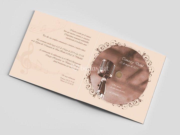 Invitaciones con diseño único