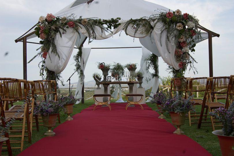 Detalles de boda civil