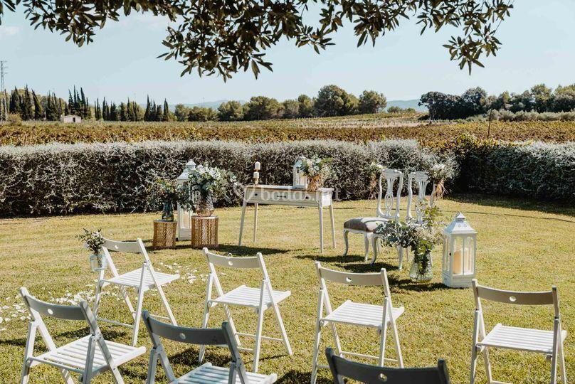 Ceremonia en Clos la Plana