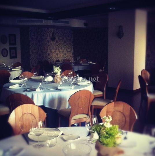 Banquete en el salón Cajal
