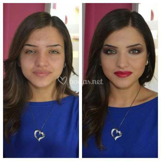Antes/después (sin filtros)