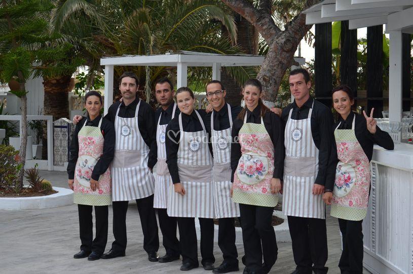 Staff camareros