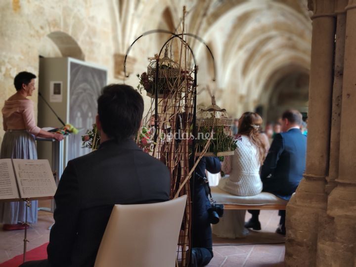 Ceremonia bilingüe francés