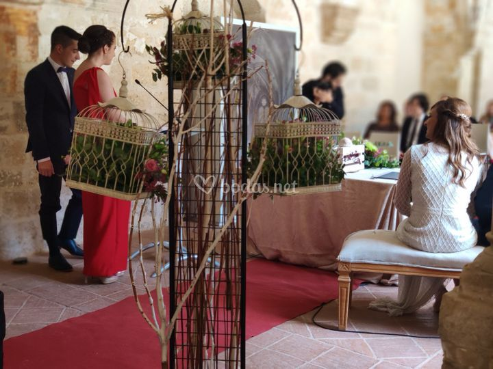Ceremonia en Valladolid