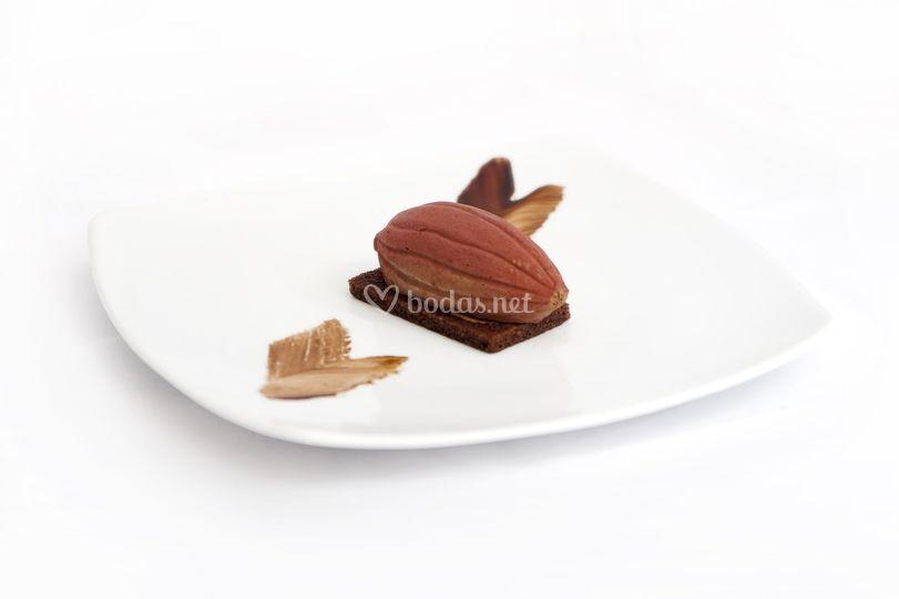 Vaina de chocolate