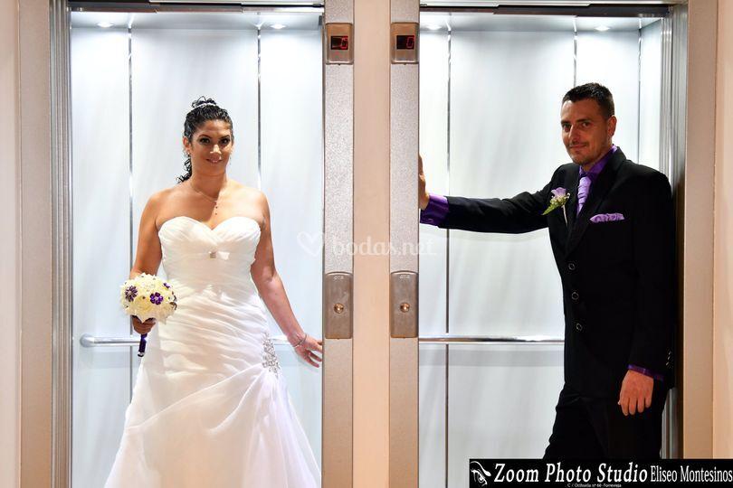 Justo antes de la boda