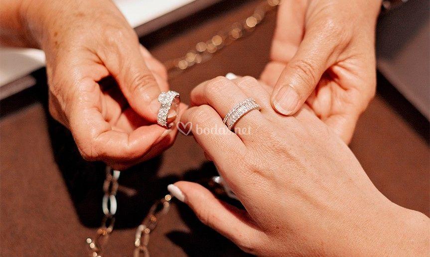 Anillos de pedida para novias