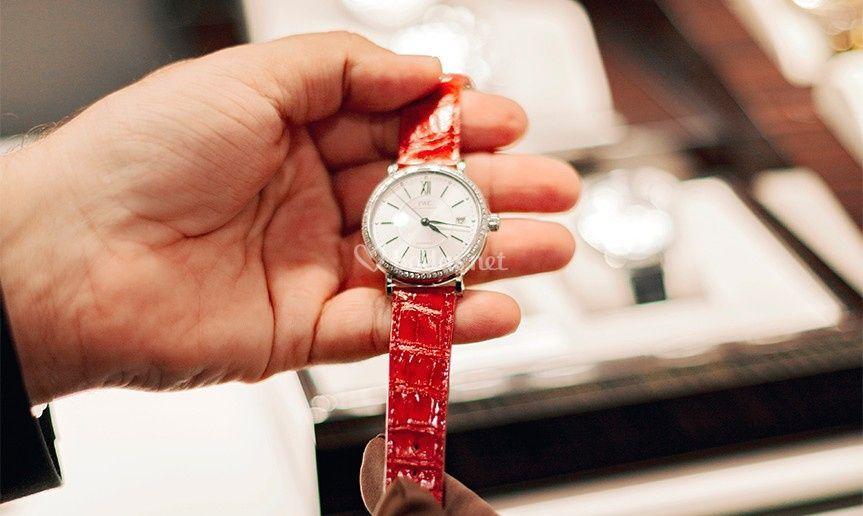Relojes de pedida para novias