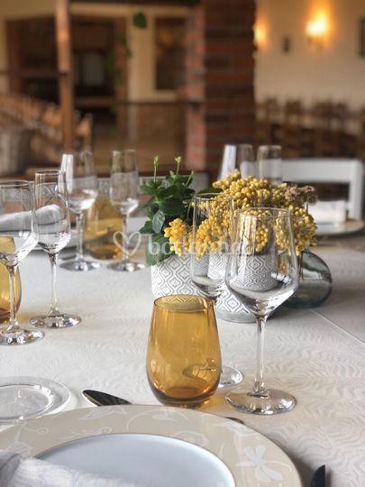 Evento en sala banquetes