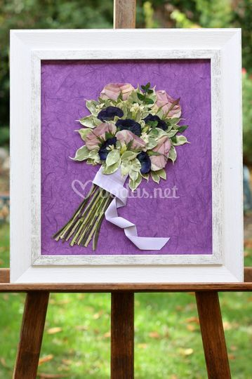 Secan tu ramo de novia